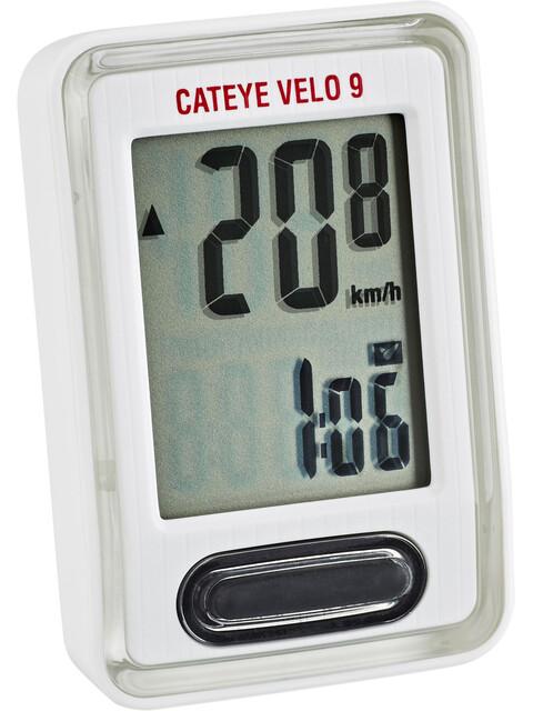 CatEye Velo 9 CC-VL820 Fahrradcomputer weiss
